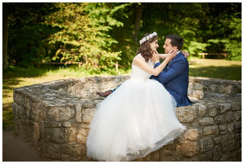 fotografia ślubna - sesja plenerowa Ojców
