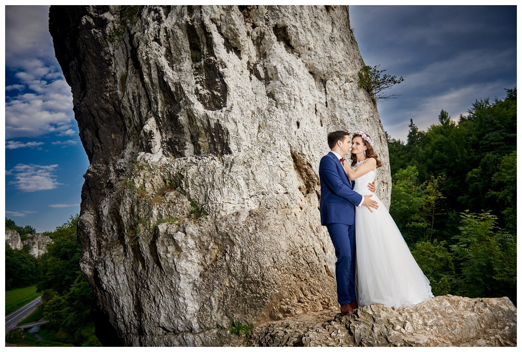 20 - fotografia ślubna - sesja plenerowa Ojców