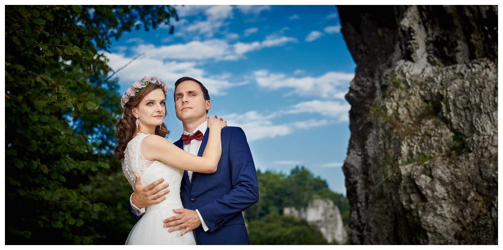 21 - fotografia ślubna - sesja plenerowa Ojców