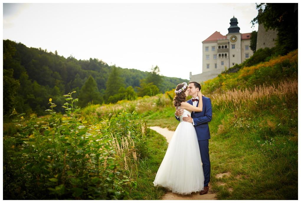 23 - fotografia ślubna - sesja plenerowa Ojców