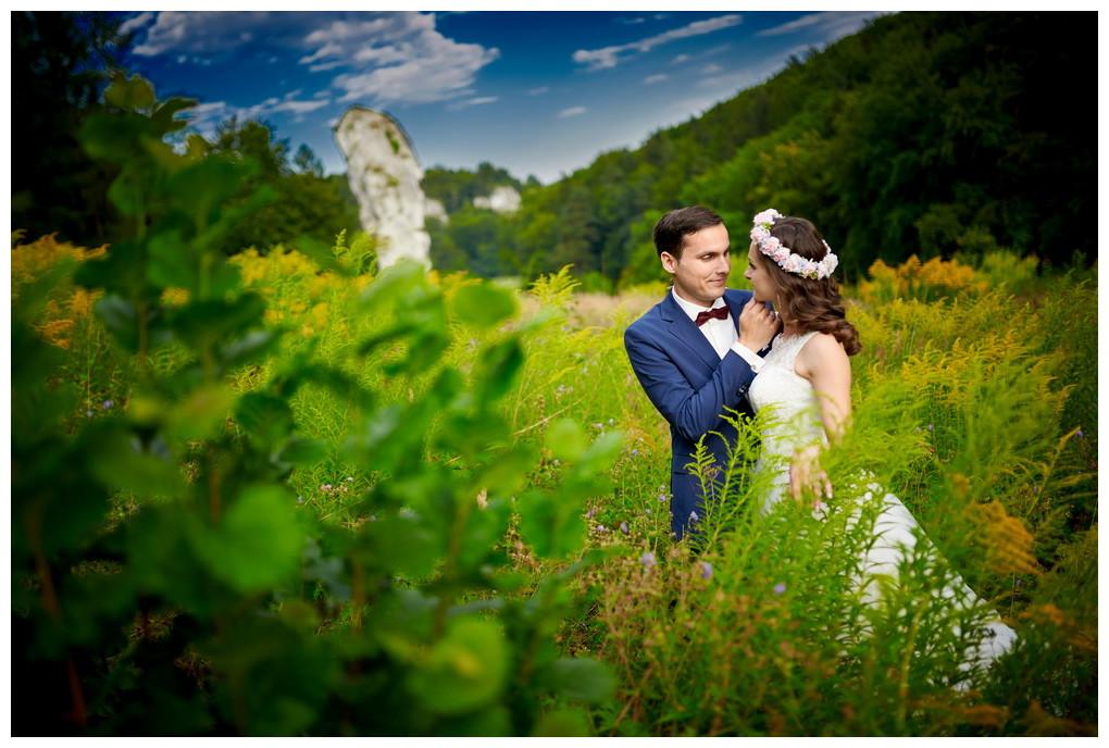 24 - fotografia ślubna - sesja plenerowa Ojców
