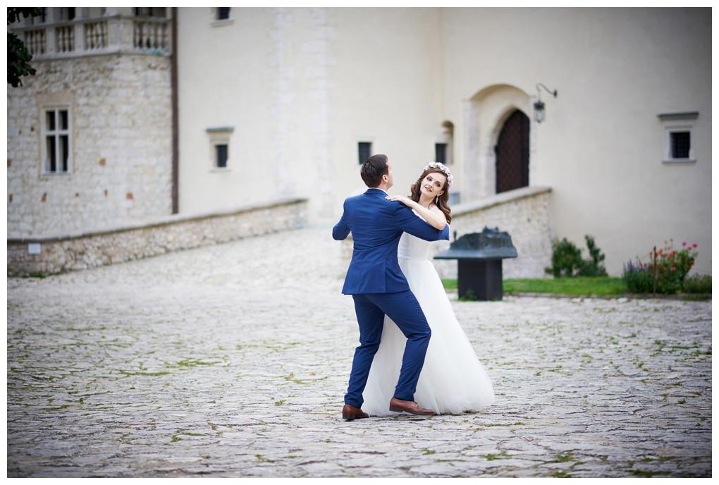 27 - fotografia ślubna - sesja plenerowa Ojców