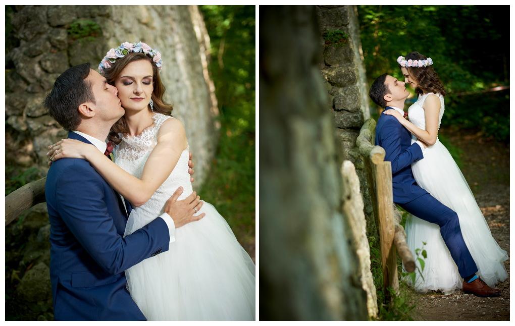 4 - fotografia ślubna - sesja plenerowa Ojców