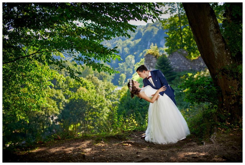 6 - fotografia ślubna - sesja plenerowa Ojców