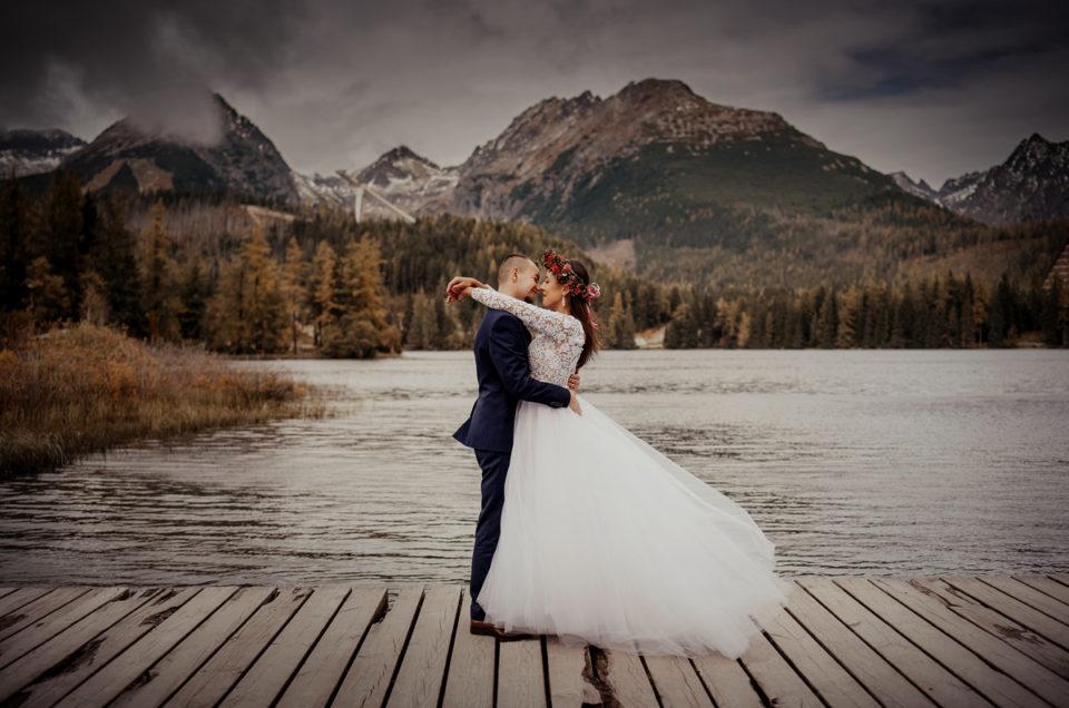 Ania & Darek – sesja ślubna, Strbskie Pleso