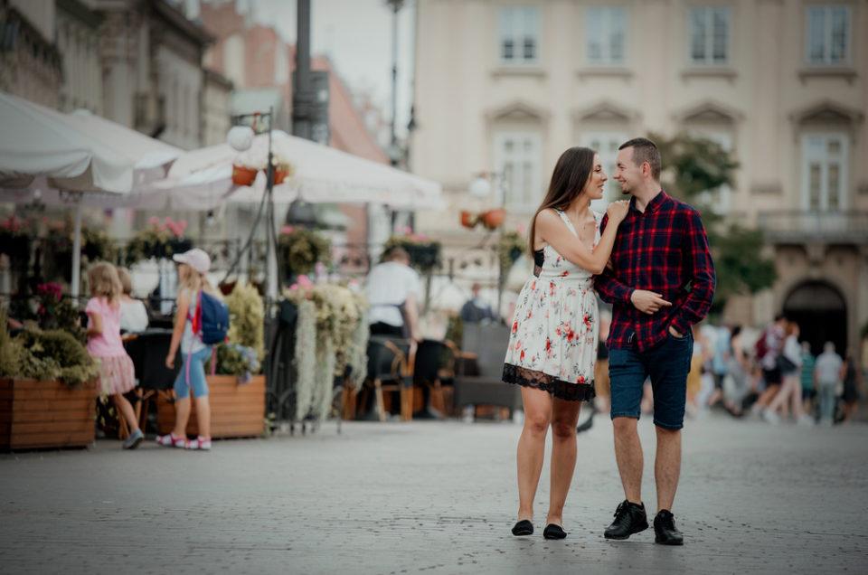 Ania & Darek – sesja narzeczeńska
